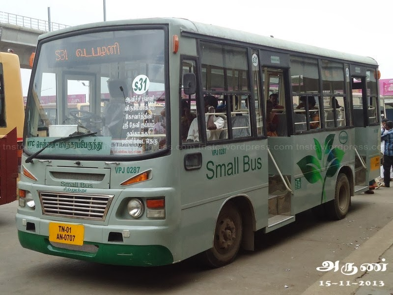 MTC Small Bus, Chennai