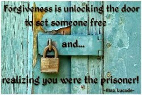 Forgiveness Opens The Door For Change