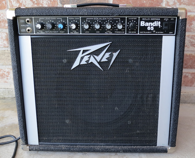 peavey bandit 65 1985 jensen sm12 1974 the gear page Power Peavey Special 130 Amp i was told that the previous owner had done some mods here s one of them