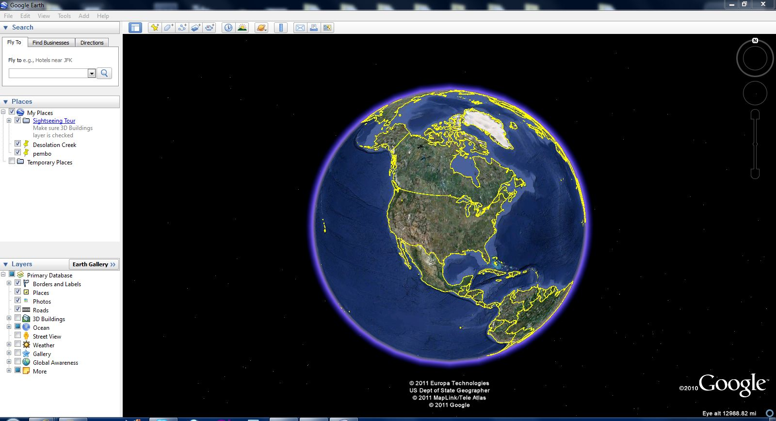 The Uneasy Writer The Coolest Places On Google Earth
