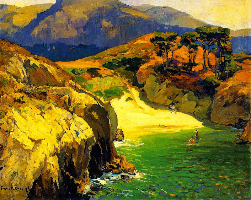 Franz Bischoff - The Emerald Cove, Carmel