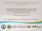 CONFERENCIA LEY GENERAL DEL ESPECTÁCULOS PÚBLICOS, NÚMERO 7440-SU IMPORTANCIA Y TRASCENDENCIA EN LA PROTECCIÓN DE LAS PERSONAS MENORES DE ED
