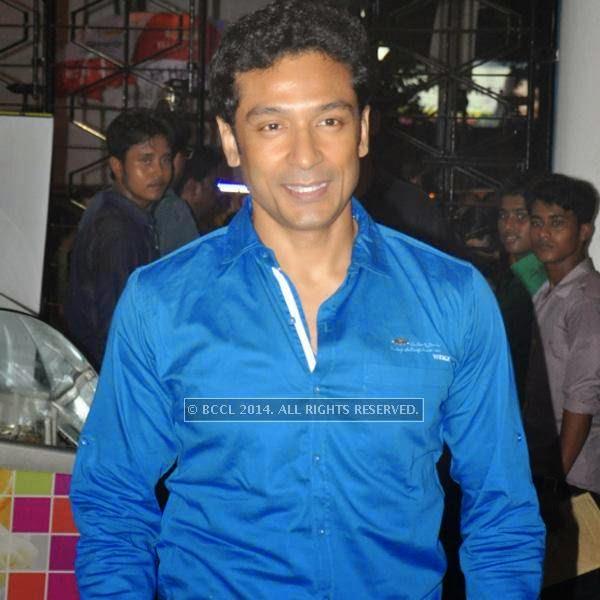 Tota Roy Chowdhury during the premiere of Ranjan Ghosh's movie Hrid Majhare at Priya in Kolkata.