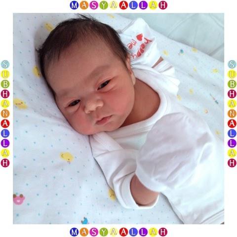 Newborn baby - Amal Insyirah