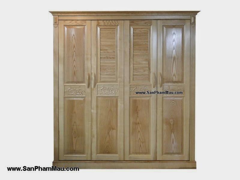 Tủ áo bằng gỗ tự nhiên