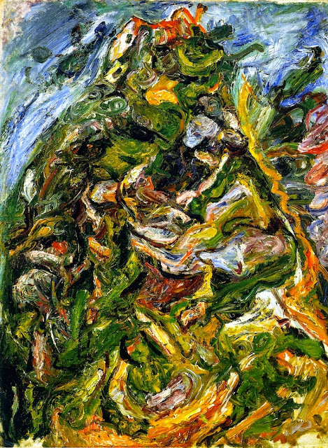 Chaim Soutine - Hill at Céret