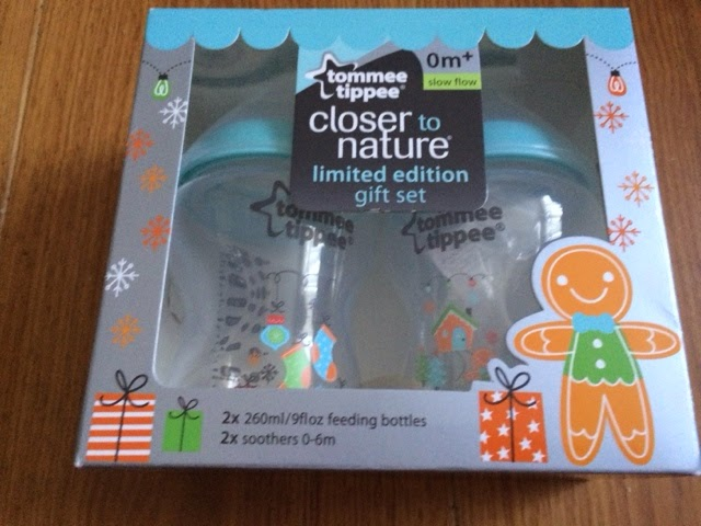two pack Tommee Tippee Christmas bottles