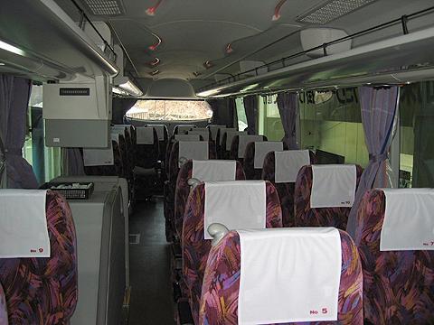 北海道中央バス「イーグルライナー」 2005 車内