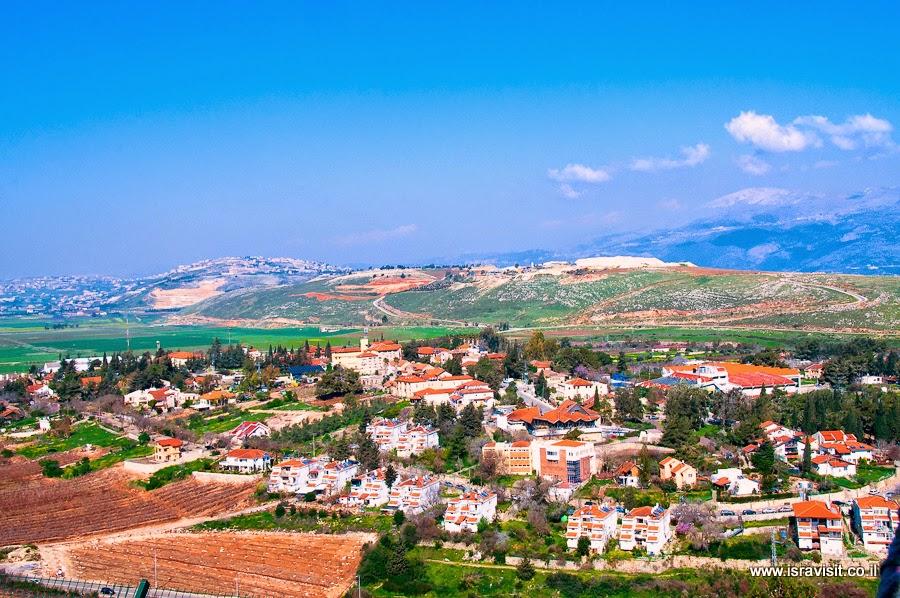Метула, Верхняя Галилея. Экскурсии в Израиле
