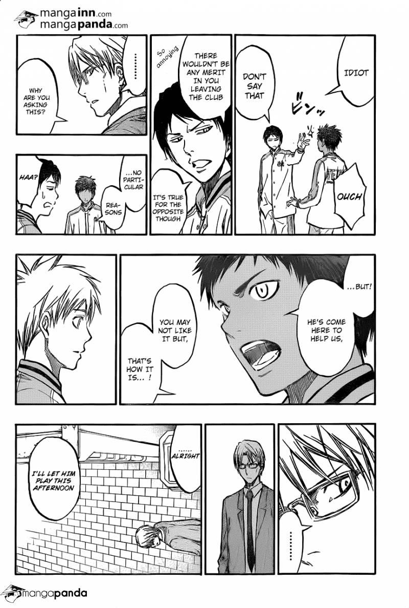 Kuroko no Basket Manga Chapter 209 - Image 06