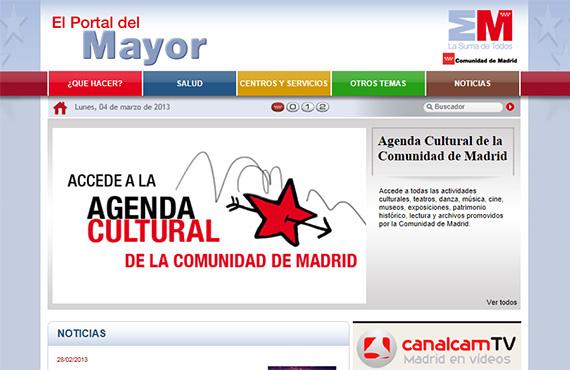Nuevo diseño del portal web del Mayor