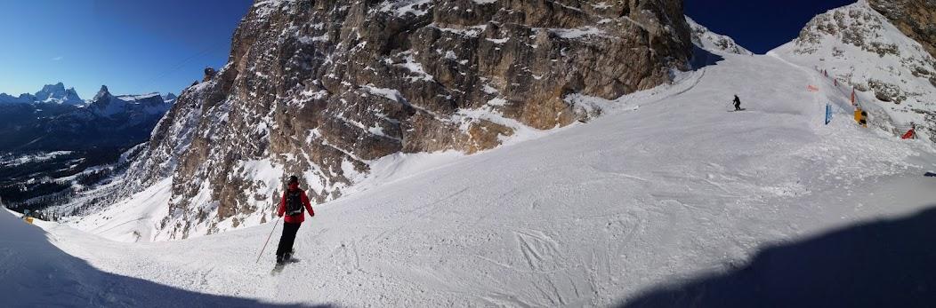 Cortina d ampezzo perfekte pisten wenig