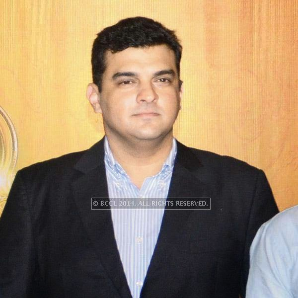Siddharth Roy Kapur (MD, Disney India) during the trailer launch of the film Khoobsurat.