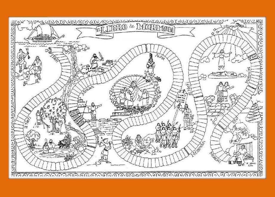 Increíble Libro De Historias Mormon Para Colorear Viñeta - Dibujos ...