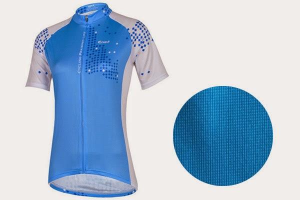 เสื้อขี่จักรยาน ผ้าไลคร่า (Lycra)