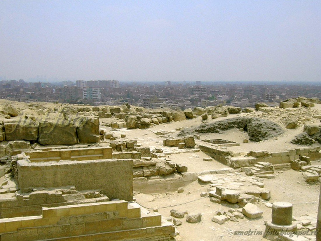 Окраина Гизы (Каир)
