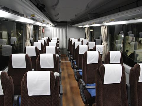西鉄高速バス「Lions Express」 8546 車内