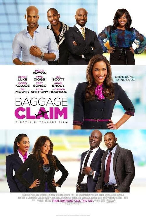 Poster Of English Movie Baggage Claim (2013) Free Download Full New Hollywood Movie Watch Online At Alldownloads4u.Com