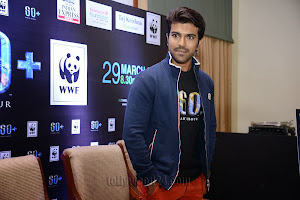 ram charan supports earth hour 2014