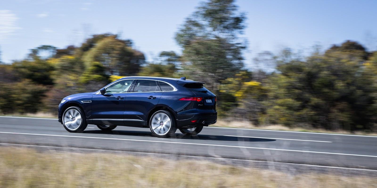 Jaguar F-Pace hứa hẹn sẽ tạo sức hút lớn trong phân khúc SUV hạng sang