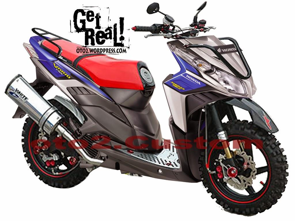 Modifikasi Honda Beat Drag Bike