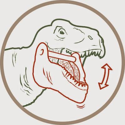 Mô hình Khủng long Schlefich Tyrannosaurus Rex (xanh nhạt) được sơn vẽ thủ công