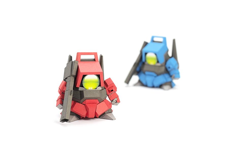 5cm Gundam Paper MOdel v4
