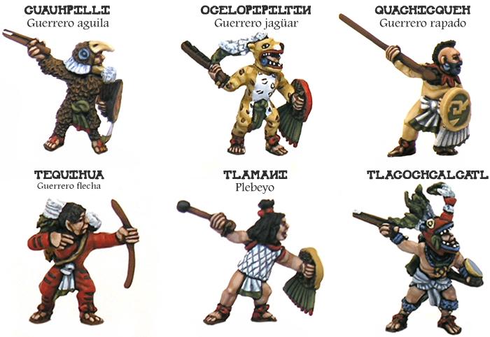 El Ejército Méxica O Azteca Heresybrush