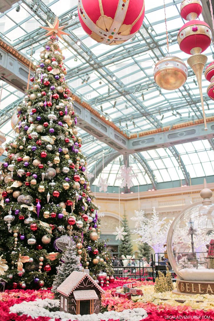Bellagio Botanical Gardens (25 Free Things in Las Vegas).