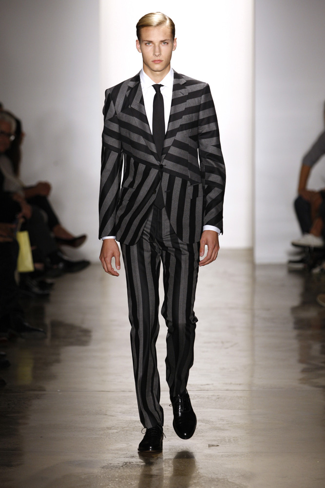 Simon Spurr at New York Fashion Week