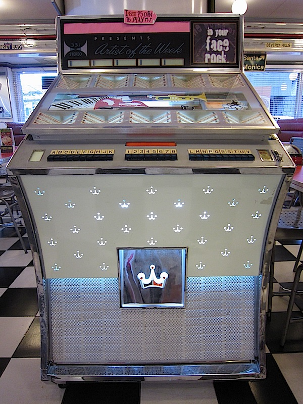 jukebox at Macy's Diner