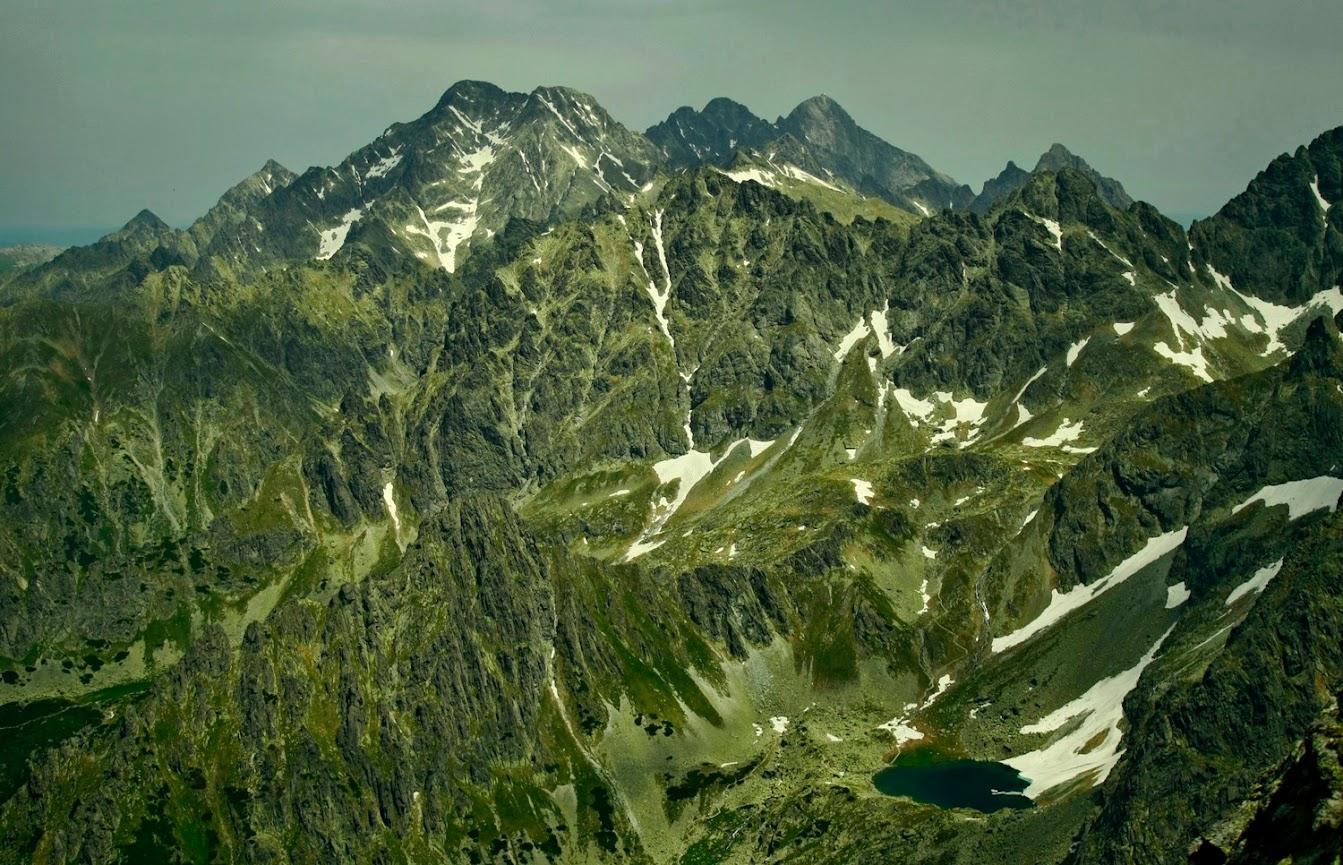 Widok z Gankowej Przełęczy