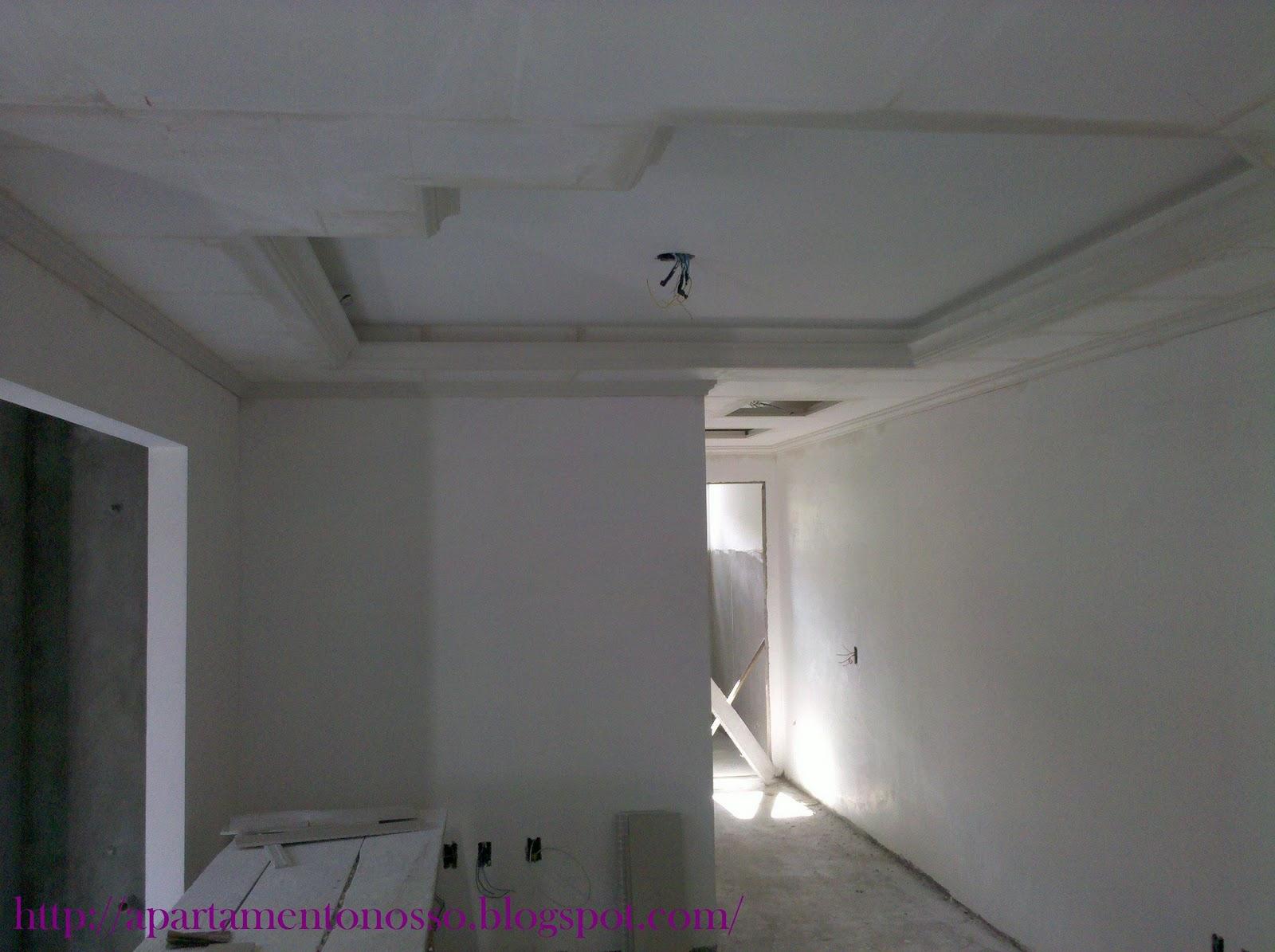 visão da sanca da cozinha para o corredor . #643764 1600 1195
