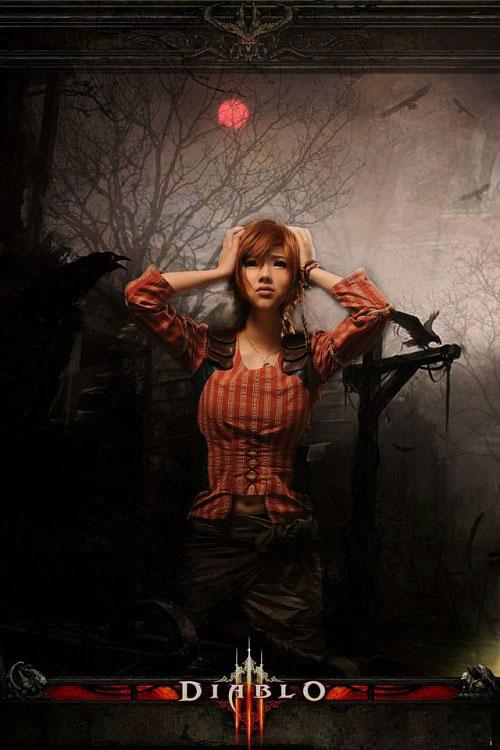 Những bức ảnh cosplay ấn tượng về Diablo III 7