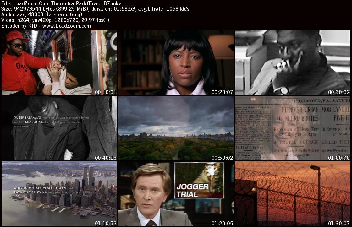 movie screenshot of The Central Park Five fdmovie.com