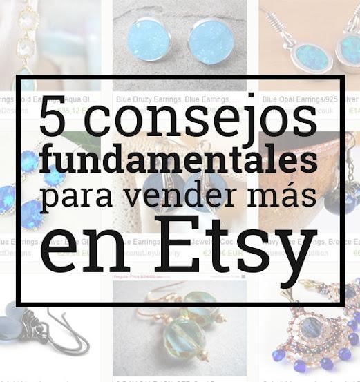 Vender más en Etsy consejos