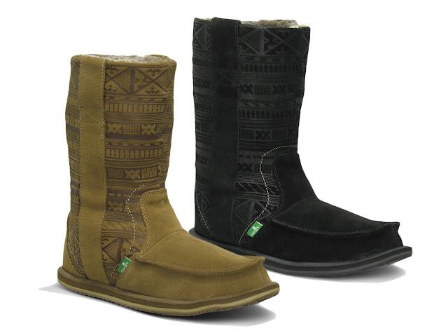 #SANUK WANDERER PRIMO:裡外兼具的麂皮雷雕民俗雪靴! 1
