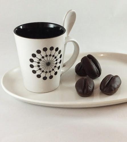 Ciastka ciasteczka kawa czekolada deser