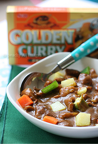 Beef Curry Using S&B Golden Curry Mix