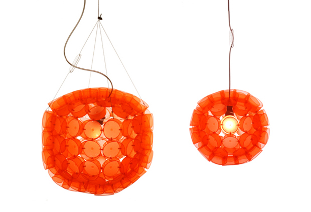 lamp shades made from disposable cups