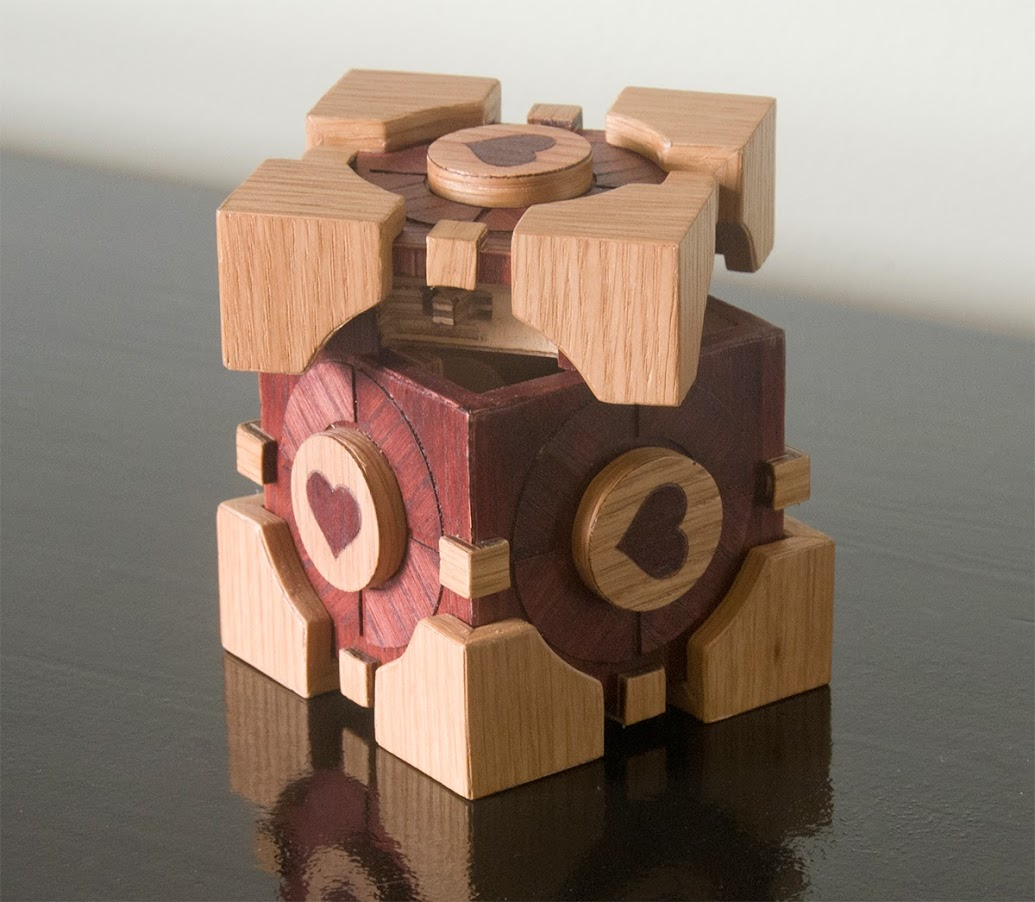 Companion Cube from Portal