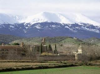 El monasterio de Veruela y el Moncayo