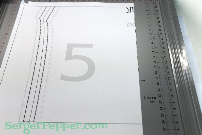 Serger Pepper - Fast & Easy Tips for print and assembly - sheet 5