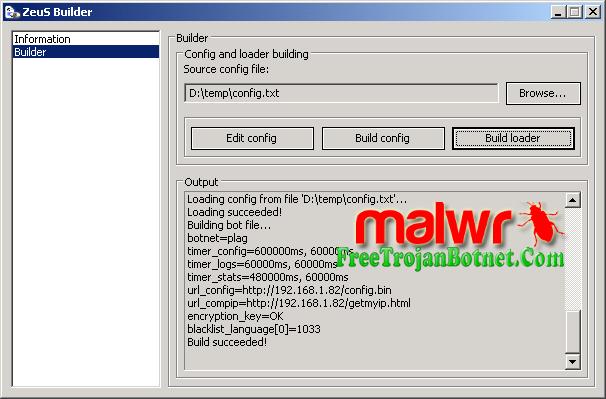 free botnet comment for password zeus complete tutorial building