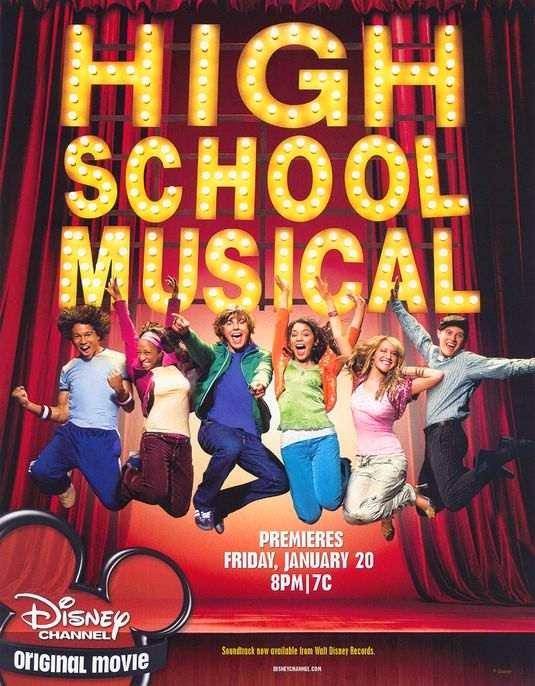 Poster Of High School Musical (2006) Full Movie Hindi Dubbed Free Download Watch Online At alldownloads4u.com