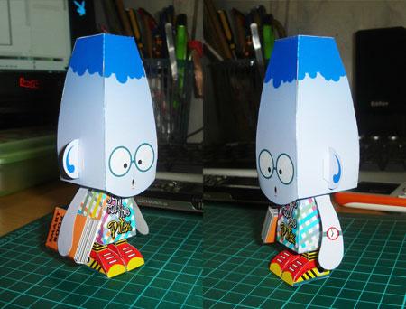Pitz Paper Toy