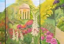 British flowers gardens