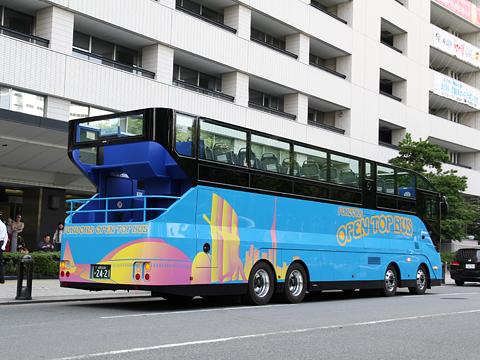 西日本鉄道「福岡オープントップバス」 0011 リア