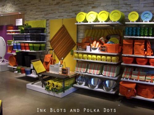 ink blots polka dots crate barrel and some apples. Black Bedroom Furniture Sets. Home Design Ideas