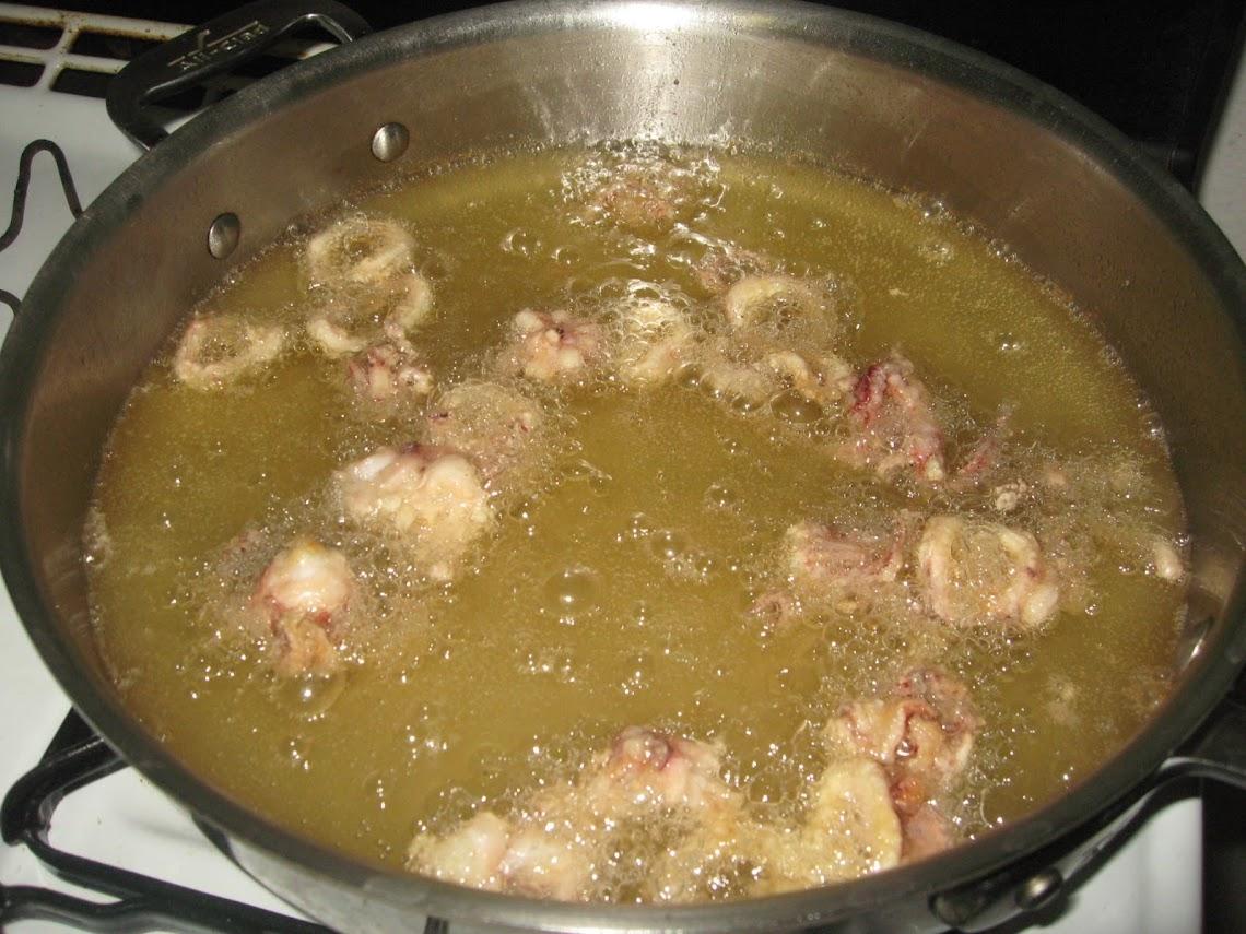 Fried Calamari (Frittura di Calamari)